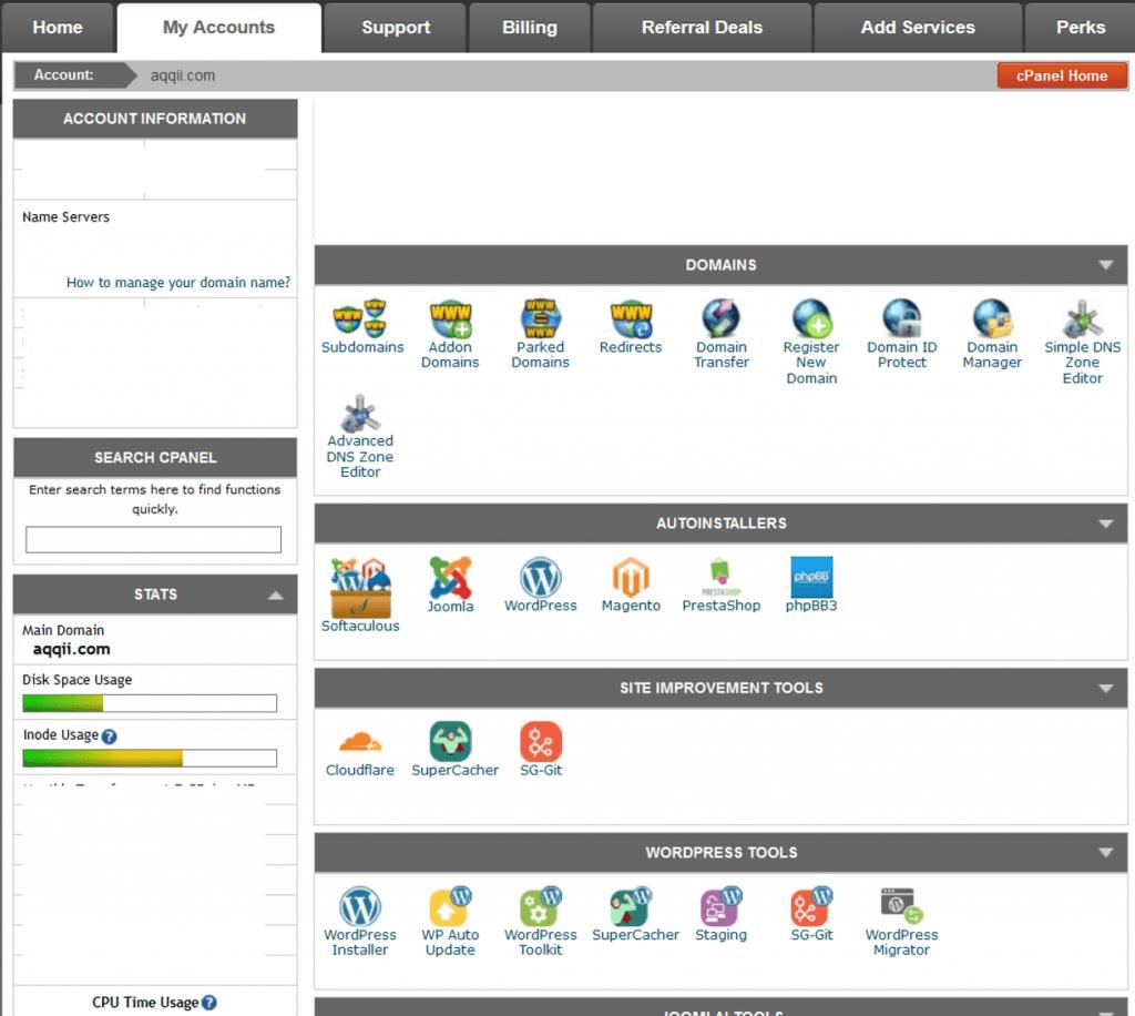 Easy simple webshop